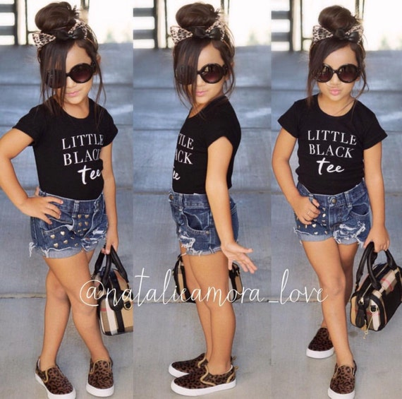 Little Black Tee Baby Shirt Phrase Quote Infant by ...