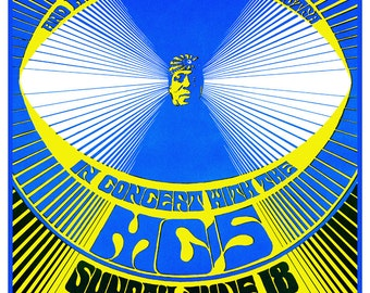 Sun Ra Concert Poster, and His Myth Science Arkestra, Cosmic Philosophy