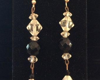 Crystal Earrings - CA 1960's - #22004