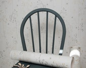 A4 SAMPLE of Meadow Grass wallpaper in grey & gold