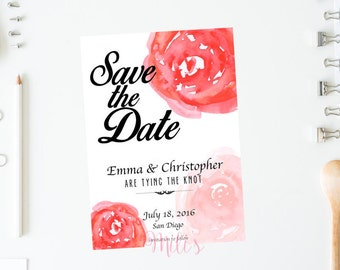 Save the Date  Marriage - INSTANT DOWNLOAD