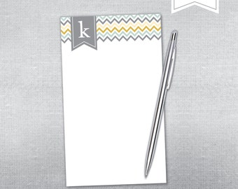 Personalized Notepad. Teacher gift. Gift.