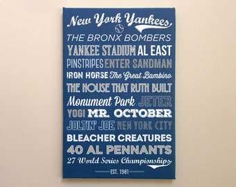 New York Yankees - Canvas or Poster