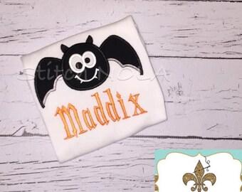Black Bat Shirt or Bodysuit