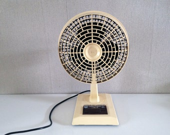 Vintage Electric fan  warm cold - Electric Table Desk Fan - Vintage Italian fan BDM caldofresco