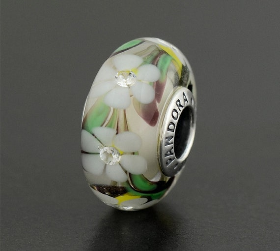 new authentic genuine pandora silver murano glass wild by. Black Bedroom Furniture Sets. Home Design Ideas