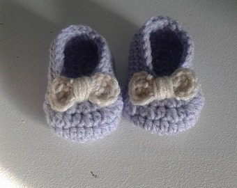 Newborn Bow Slippers