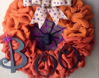 Halloween wreath.
