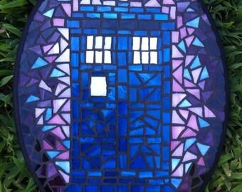 Doctor Who Tardis Mosaic