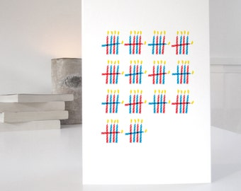 70th Birthday Card, card for 70th, 70 birthday card, birthday card for father, witty birthday card, matching wrapping paper available