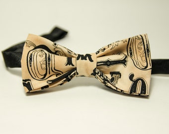 Old Style Font Typography Lettering Bow Tie