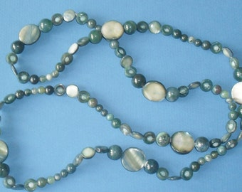Beaded Necklace c1980