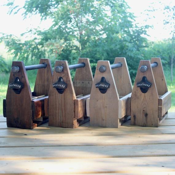 Bière de bois récupéré Caddy