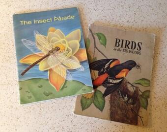 Pair of Soft Cover Children's Illustrated Nature Books, by Glenn Orlando Blough