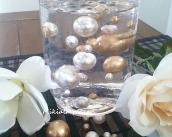 Vase Filler Jumbo Pearls Ivory Marsela Cranberry Assorted