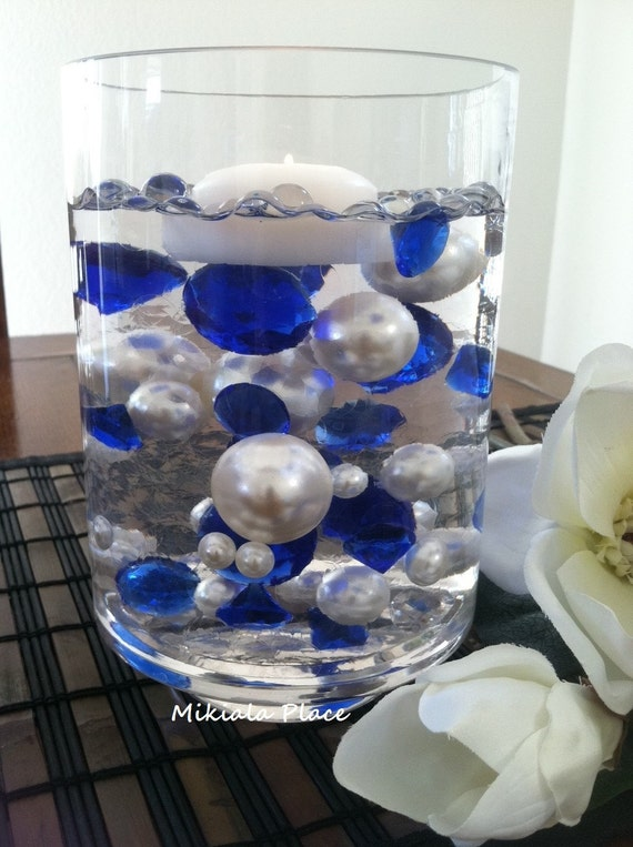 how to make floating pearl centerpieces