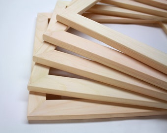 5 11x14x125 unfinished wood frames set of 5 frames no glass no backing wholesale 11x14 picture frames bulk frames