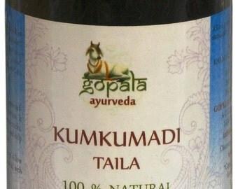 Kumkumadi Oil (USDA Certified Organic) - Gopala Ayurveda
