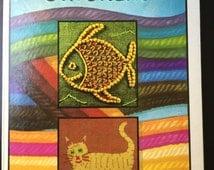 Stitchery: Collins Creative Craft Books Maggie Bennett 1974 70s needlecraft.