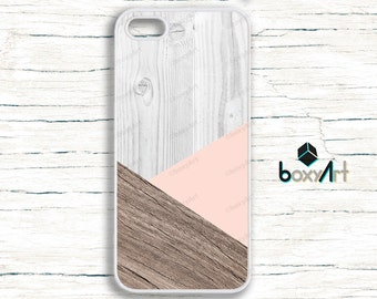 iPhone Case - Geometric Wood Texture - iPhone 4/4s iPhone 5 iPhone 5c iPhone 5s iPhone 6 iPhone 6 Plus iPhone 6s iPhone 6s Plus iPhone SE
