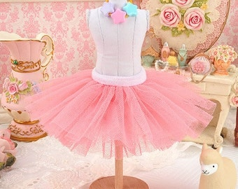 Blythe/Pullip Tulle Ball Mini Skirt / Tutu
