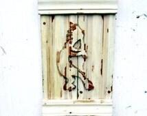 Kokopelli Wall Art, Bohemian Room Decor, Boho Decor, Southwestern Decor, Fertility Symbol, New Mexico Decor, Reclaimed Wood Art, Kokopeli