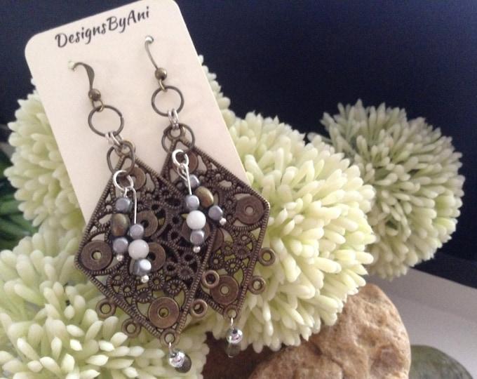 Boho Bronze Earrings