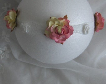 Hand made headband for baby photo prop
