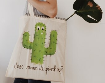 Cloth bag: we are going tapas?