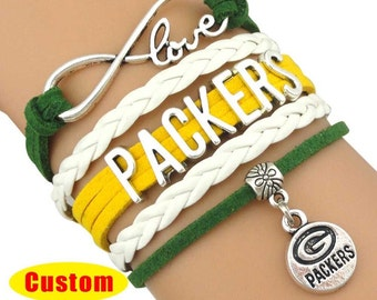 Green Bay Packers Infinity bracelet
