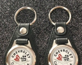 CHEVROLET CORVETTE keychain 2 pack
