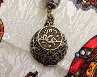 Horoscope Essential Oil Pendant Locket