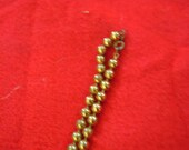 """Vintage Small Bead (METAL) Gold-Tone 24"""" long NECKLACE"""