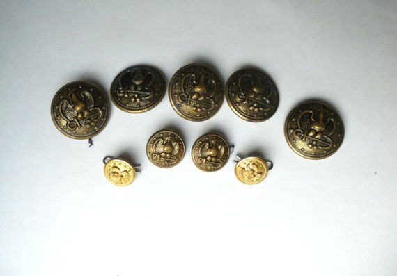vintage buttons vintage sewing supplies by