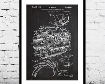 Jet engine patent jet engine poster jet engine blueprint jet engine poster jet engine print jet engine patent jet engine art malvernweather Image collections
