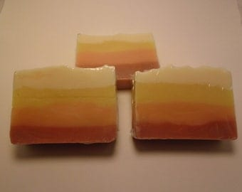 Tropical Punch Handmade Cold Process Soap