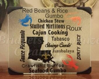 Cajun Cook Subway Cutting Board