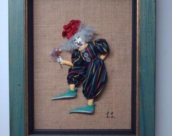 Handiwork - Clown - 3D - mural