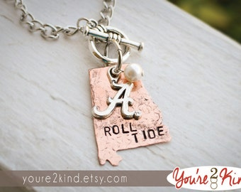 Alabama Necklace - Roll Tide - University of Alabama