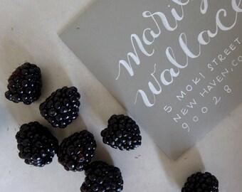 MARILYN STYLE- Custom Hand Lettered Wedding Invitation Envelope Calligraphy Addressing