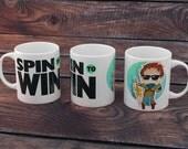 League of legends - Garen Spin to win mug Cute Gamer Geeky mug
