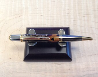 Ring necked pheasant feather Pen Perfect gift idea! Handmade by Specialty Turned Designs