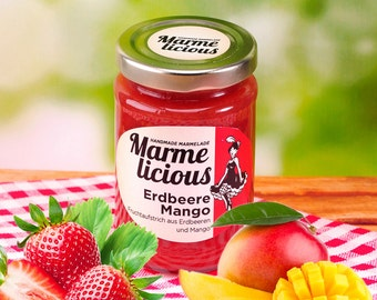 Strawberry mango jam jam
