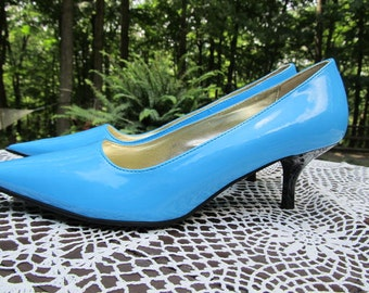 Blue/Turquoise Shoes
