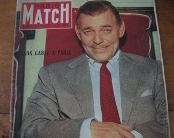 Sale ! PARIS MATCH  edition nr. 167  24 - 31 may 1952..