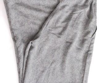zigzaz printed pants. 80's loose fit pants