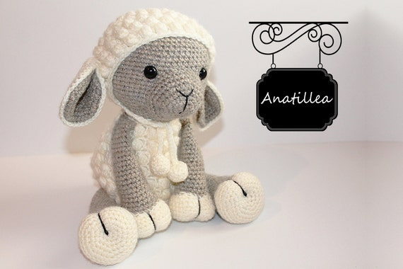 PATTERN : Sheep / Lamb Amigurumi Sheep Amigurumi Lamb