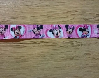 Minnie Mouse (pink) dummy clip