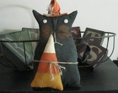 Halloween Decoration - Fall Decoration - Cat Decoration