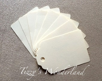 200 g/m2 50 ivory Cardstock Tags + 10 tags for free!
